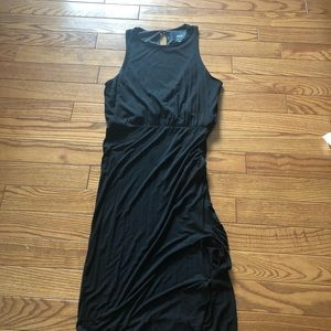 Black Maeve midi dress, small (from Anthropologie)